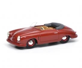 Porsche 356 Gmünd Cabriolet, dark red, 1:43