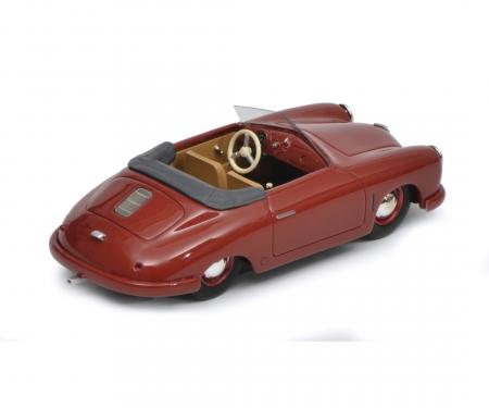 Porsche 356 Gmünd Cabriolet, dunkelrot, 1:43