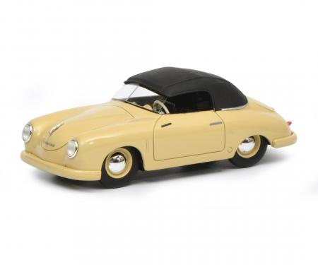 Porsche 356 Gmünd Cabriolet geschlossen, beige, 1:43