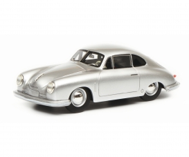 Porsche 356 Gmünd,silver 1:43