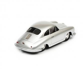 Porsche 356 Gmünd Coupé, silber, 1:43