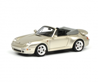 Porsche 911 Cabrio, grey 1:43