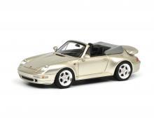 Porsche 911 (993) Cabrio, grau 1:43