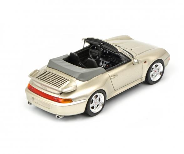 Porsche 911 (993) Cabrio, grey 1:43