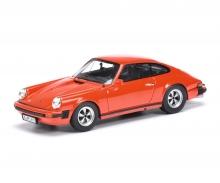 Porsche 911 Coupé, indischrot 1:43