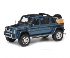 Merc.-Maybach G650, blue 1:43