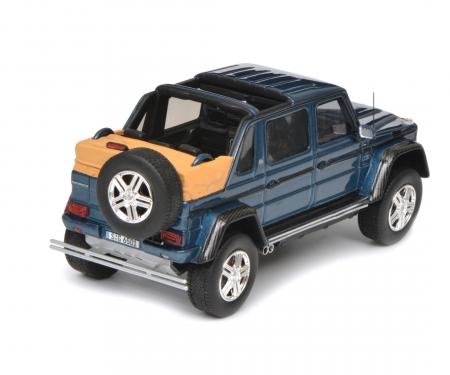 Mercedes-Maybach G650 Landaulet, blue, 1:43