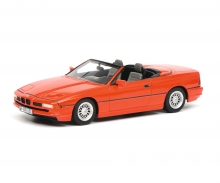BMW 850i convertible, red, 1:43