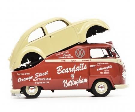 """VW T1a """"Beardalls of Nottingham"""", rot, 1:43"""
