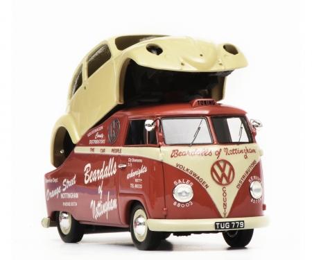 """VW T1a """"Beardalls of Nottingham"""", red, 1:43"""