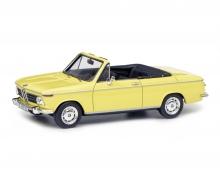 BMW 2002 Cabrio 2/2 (Baur), yellow, 1:43