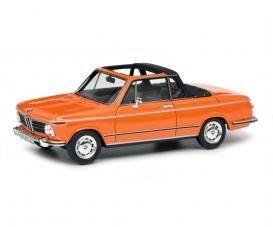 BMW 2002 Cabrio, orange 1:43