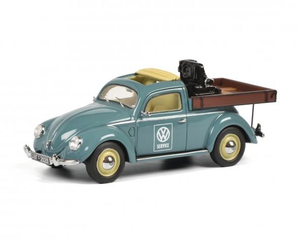 VW Käfer Beutler Pick up 1:43