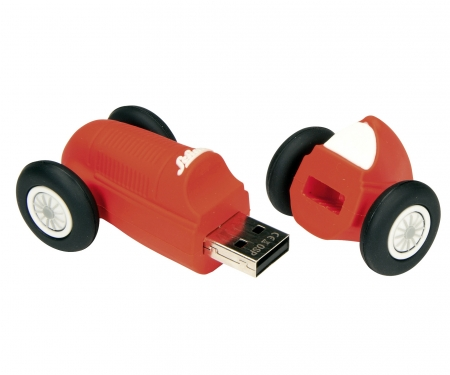 "Schuco Studio I - USB Flash Stick 2GB ""Edition 100"", red"