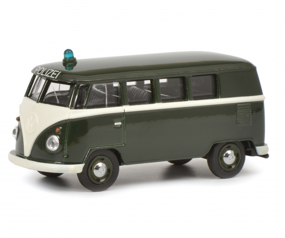 VW T1 Bus Police 1:64