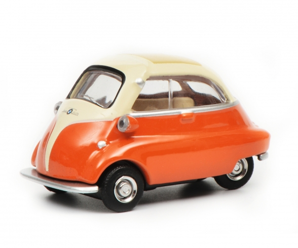 BMW Isetta, beige/orange 1:64
