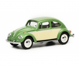 VW Kaefer, green/beige 1:64