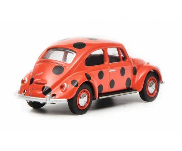 VW Beetle Lady Bug 1:64