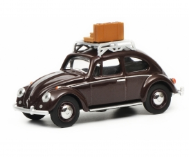 VW Kaefer with luggage 1:64