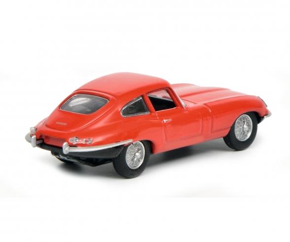 Jaguar E-Type Coupé, red 1:64