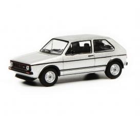VW Golf I GTI silver 1:64