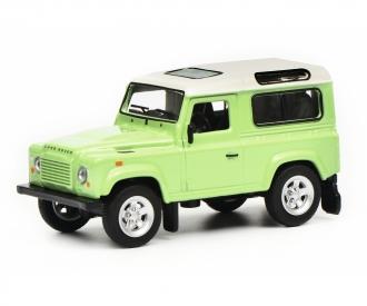 Land Rover Defender, grün weiß, 1:64