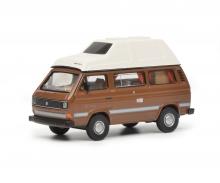 """VW T3 """"Joker"""", brown, 1:64"""
