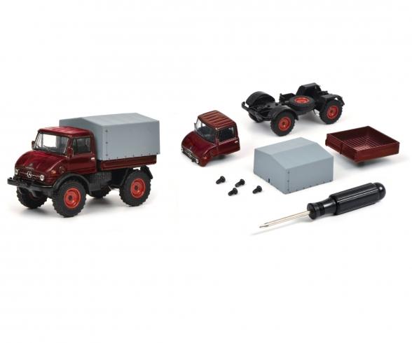 "Edition 1:64 Kit ""Mercedes-Benz Unimog U406"", red, 1:64"