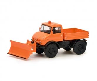 "Unimog U406 ""Winterdienst"", orange 1:64"