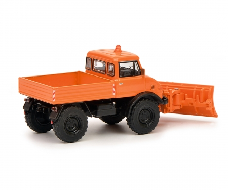 "Unimog U406 ""Winterdienst"", orange 1:64"