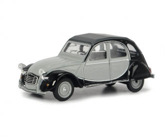 Citroen 2CV grey/black 1:64