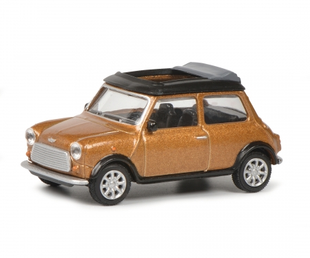 Mini Cooper brown met.1:64