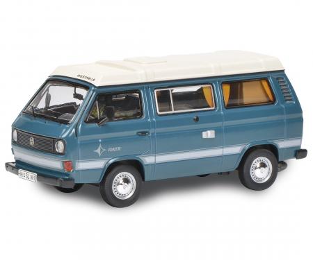 VW T3 Camper blau 1:64