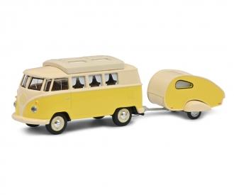 VW T1 Camper mit Wohnanh.1:64