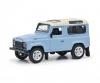 Land Rover light blue 1:64