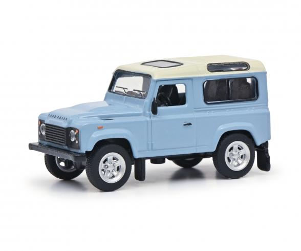 Land Rover hellblau 1:64