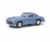 MB 300 SL gullwing blue 1:64