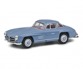 MB 300 SL gullwing blue 1:64