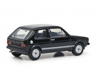 VW Golf GTI black 1:64