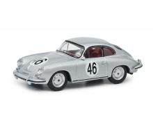 Porsche 356 Coupé silver 1:64
