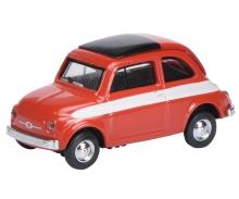 Fiat 500 red 1:87