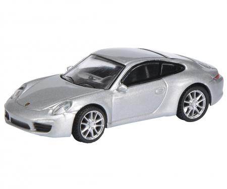 Porsche 911 (991) Carrera S Coupé, silber 1:87