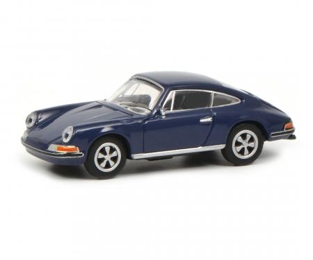 Porsche 911 S Coupé, blue 1:87