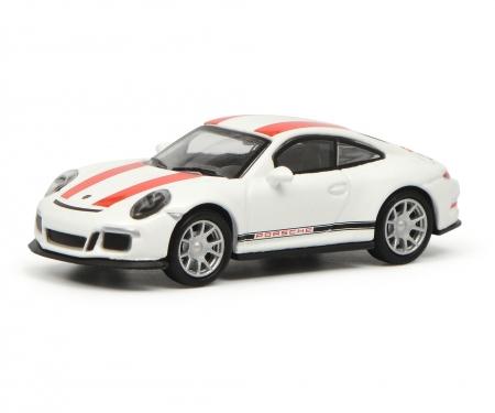 Porsche 911 R (991), weiß/rot 1:87