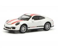 Porsche 911 R (991), white/red 1:87