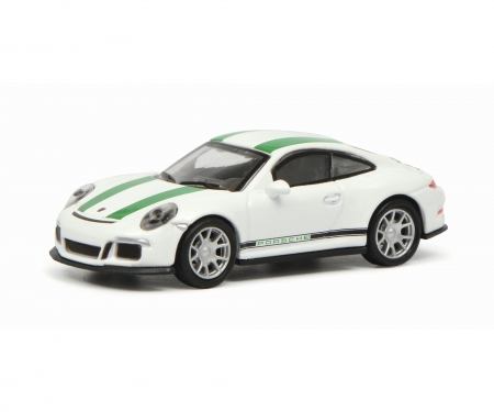 Porsche 911 R white/green 1:87