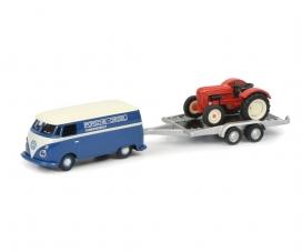 VW T1 w. trailer 1:87