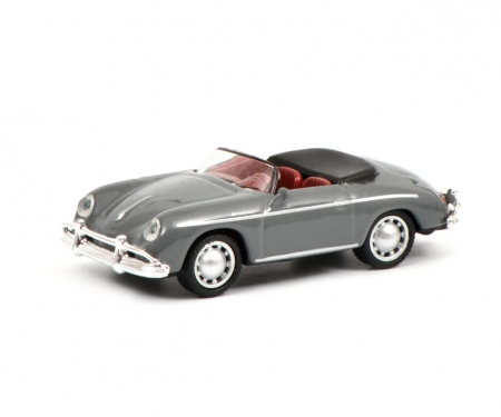 Porsche 356 A Speedster, grey, 1:87