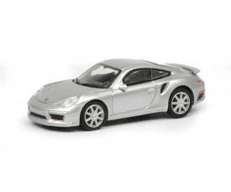 Porsche 911 (991),silver 1:87