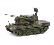 """Gepard Flakpanzer """"Bundeswehr"""", camouflaged, 1:87"""